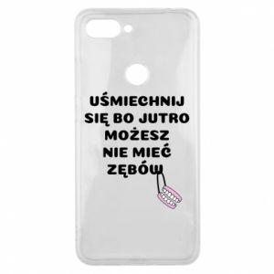 Etui na Xiaomi Mi8 Lite Uśmiechnij się bo...
