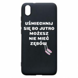 Phone case for Xiaomi Redmi 7A Smile because you can... - PrintSalon