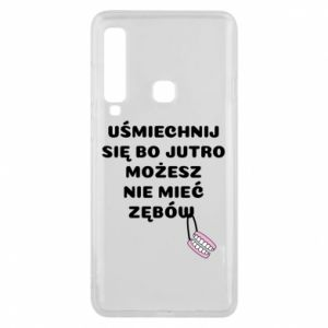 Phone case for Samsung A9 2018 Smile because you can... - PrintSalon