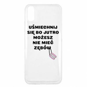 Etui na Xiaomi Redmi 9a Uśmiechnij się bo...