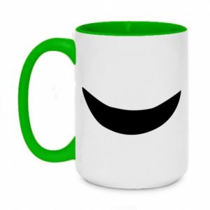 Two-toned mug 450ml Smile
