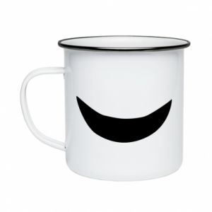 Enameled mug Smile