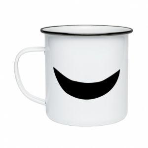 Kubek emaliowane Uśmiechnij się