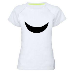Damska koszulka sportowa Uśmiechnij się