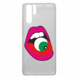 Etui na Huawei P30 Pro Usta dziewczyny z okiem