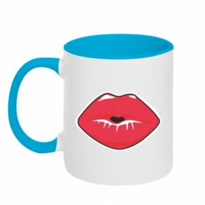 Two-toned mug Lips
