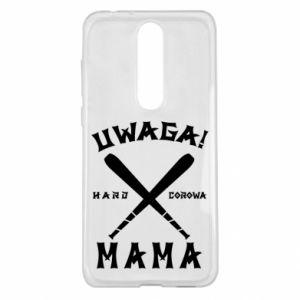 Nokia 5.1 Plus Case Attention mom