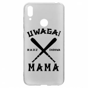 Etui na Huawei Y7 2019 Uwaga mama