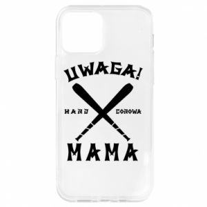 Etui na iPhone 12/12 Pro Uwaga mama