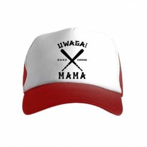 Kid's Trucker Hat Attention mom