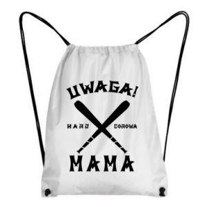 Plecak-worek Uwaga mama