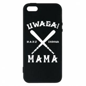 Etui na iPhone 5/5S/SE Uwaga mama