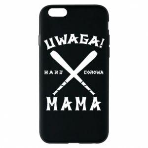 Etui na iPhone 6/6S Uwaga mama