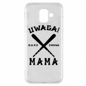 Samsung A6 2018 Case Attention mom