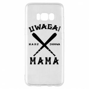 Samsung S8 Case Attention mom