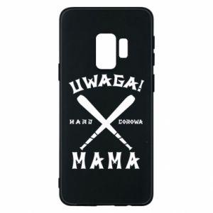 Samsung S9 Case Attention mom