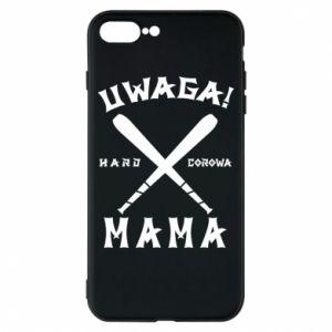 Etui na iPhone 8 Plus Uwaga mama