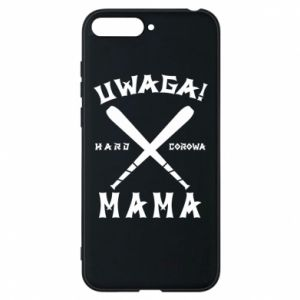 Huawei Y6 2018 Case Attention mom