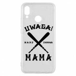 Etui na Huawei P20 Lite Uwaga mama