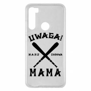 Xiaomi Redmi Note 8 Case Attention mom