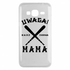 Etui na Samsung J3 2016 Uwaga mama
