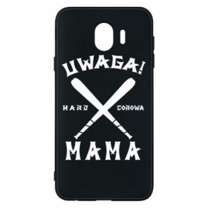 Samsung J4 Case Attention mom