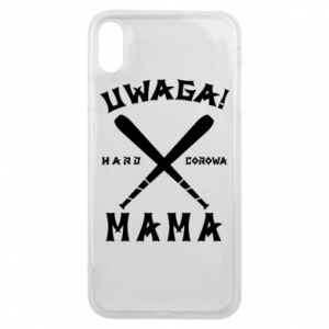 Etui na iPhone Xs Max Uwaga mama