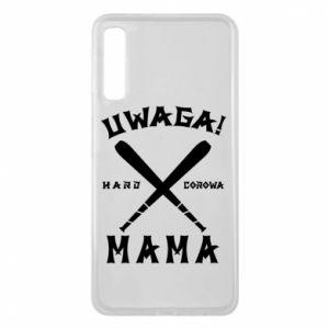 Etui na Samsung A7 2018 Uwaga mama