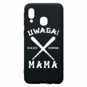 Samsung A40 Case Attention mom