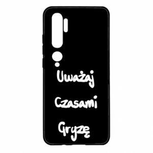 Etui na Xiaomi Mi Note 10 Uważaj czasami gryzę