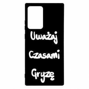 Etui na Samsung Note 20 Ultra Uważaj czasami gryzę
