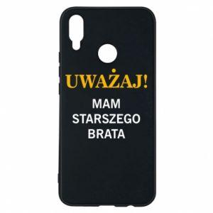 Etui na Huawei P Smart Plus Uważaj mam starszego brata