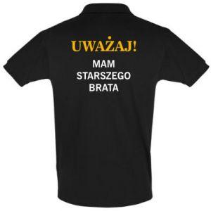 Koszulka Polo Uważaj mam starszego brata