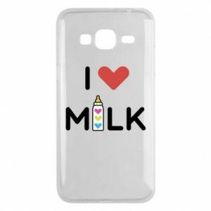 Etui na Samsung J3 2016 Uwielbiam mleko