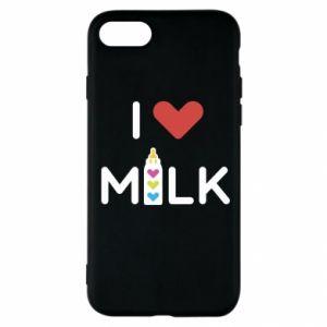 Etui na iPhone SE 2020 Uwielbiam mleko