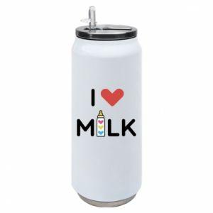 Puszka termiczna Uwielbiam mleko