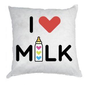 Poduszka Uwielbiam mleko