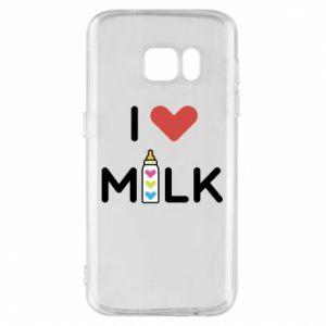 Etui na Samsung S7 Uwielbiam mleko