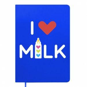 Notes Uwielbiam mleko