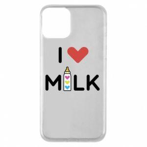 Etui na iPhone 11 Uwielbiam mleko