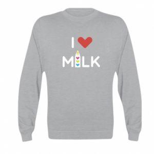 Bluza dziecięca Uwielbiam mleko