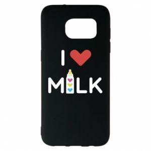 Etui na Samsung S7 EDGE Uwielbiam mleko