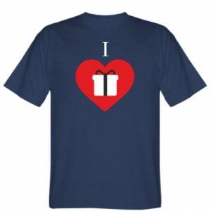 T-shirt I love presents