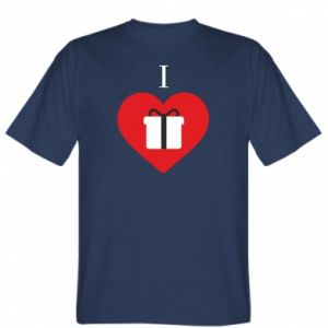 Koszulka I love presents