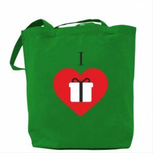 Bag I love presents