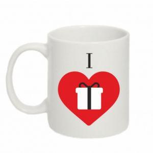 Mug 330ml I love presents