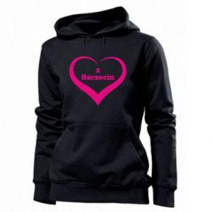 Women's hoodies I love Szczecin