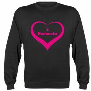 Sweatshirt I love Szczecin