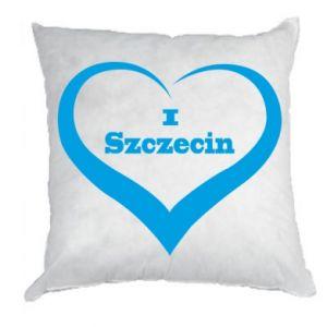 Poduszka I love Szczecin - PrintSalon