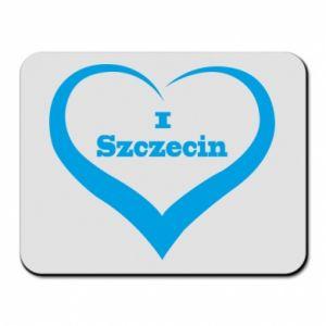 Podkładka pod mysz I love Szczecin - PrintSalon